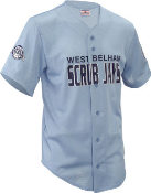 Fencebuster jersey in Columbia blue